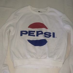 Women's Pepsi cropped sweatshirt